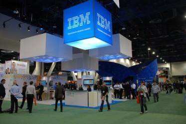 IBM Booth (source: bart.bogaert.com)
