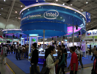 Intel Booth (source: boonbot)