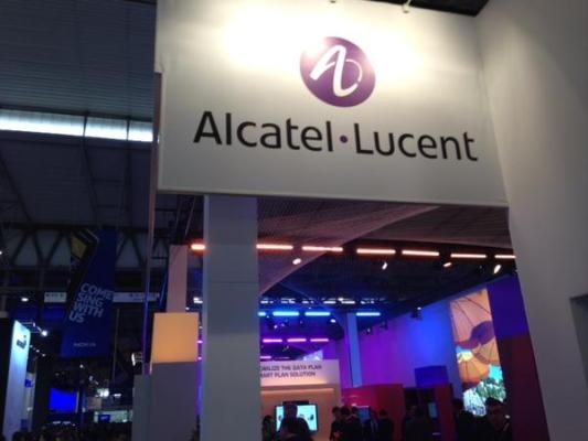 Alcatel Lucent Booth(tmcnet)