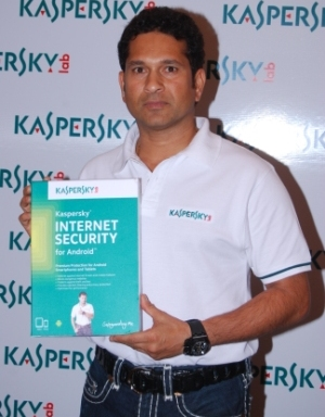 Kaspersky Lab India Brand Ambassador Sachin Tendulkar unveiled the all-new Kaspersky Internet Security for Android