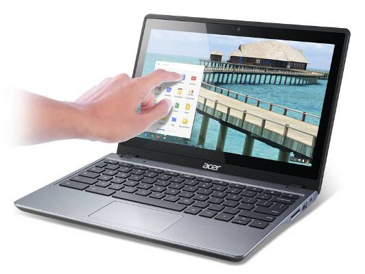 Acer touchscreen Chromebook