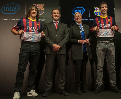 Intel to support FC Barcelona with new technologies