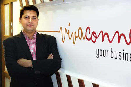 Vikram Raichura, managing director of VivaConnect