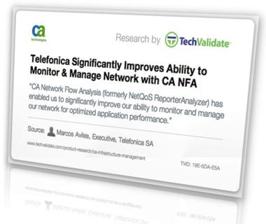 CA Network Flow Analysis