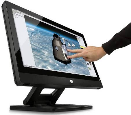 HP brings HP Z1 workstation with 27-inch diagonal display