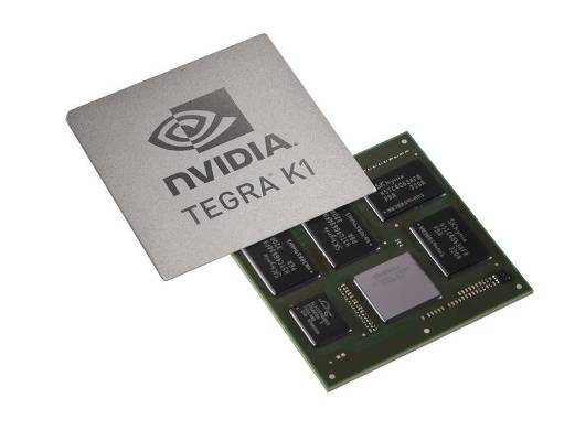 NVIDIA  new Tegra K1 mobile processor for self-driving cars