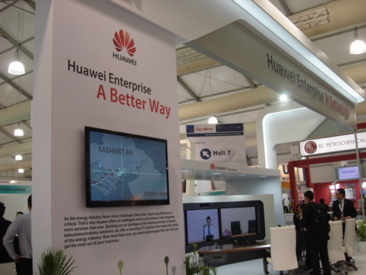 Huawei Enterprise gains