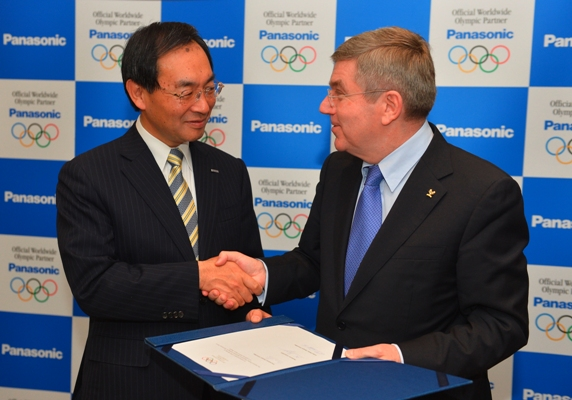 Panasonic to supply technology for Olympics till 2024