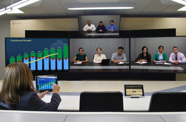 Polycom brings updated video conferencing solution