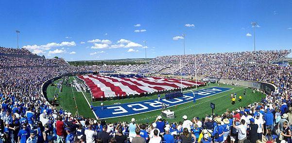 Airforce Academy Falcon stadium