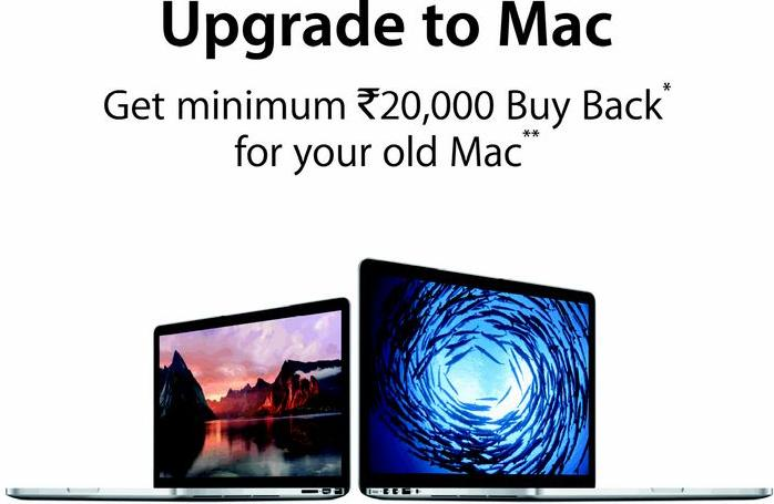 Apple Mac offer in India