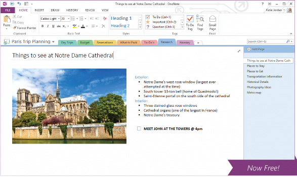 Microsoft releases free OneNote note-taking software for Macs