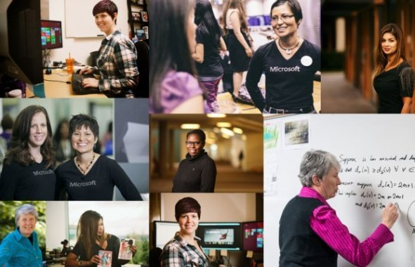 Microsoft shares success stories of their top IT talent on Women's Day