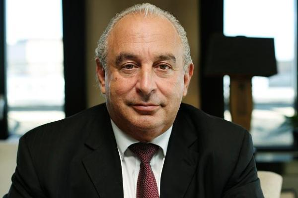 Philip Green, owner of Arcadia Group