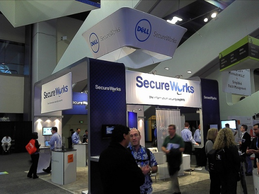 Dell secure works booth