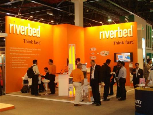 Riverbed Technology booth