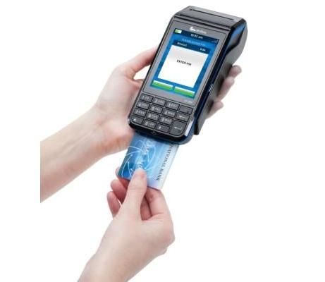 Verifone EMV-capable payment terminal
