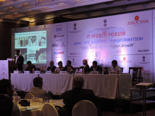ASSOCHAM conference - SMAC For Business Transformation