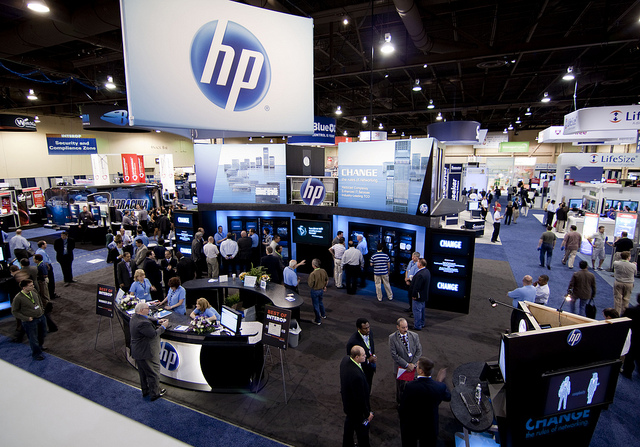 HP booth