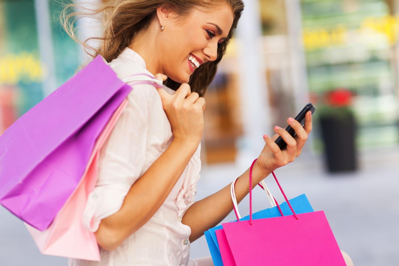 mobile online shopping