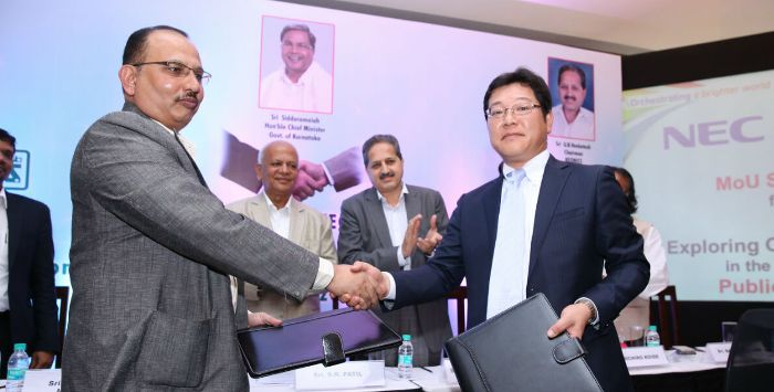 NEC to support Keonics for smart city