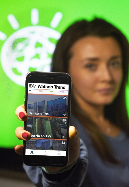 ibm watson trend for