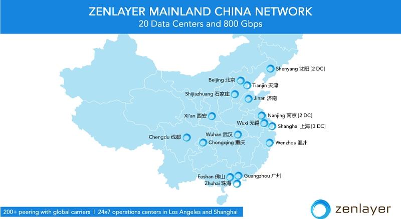 Zenlayer data centers