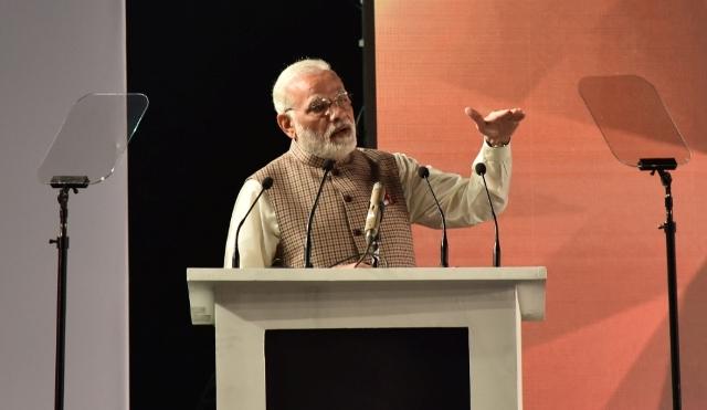 PM Narendra Modi at GCCS 2017