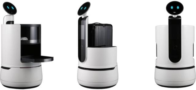 LG robot at CES 2018