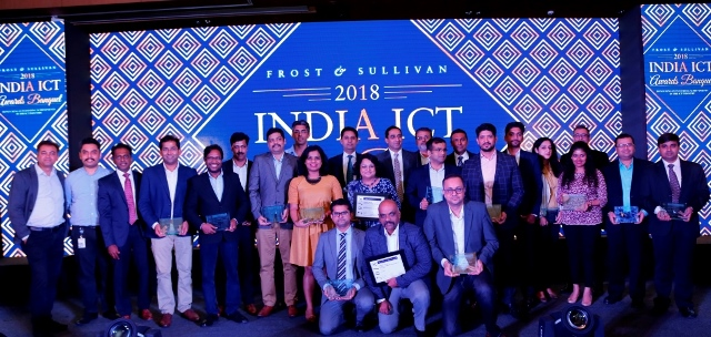Frost and Sullivan India ICT awards 2018