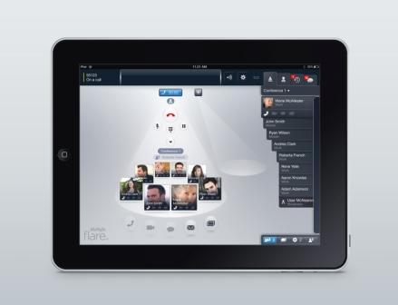 Avaya Flare Experience on iPad