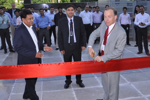 India Ribbon Cutting