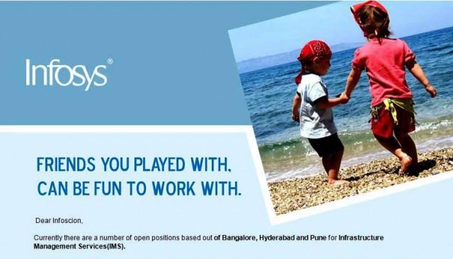 Infosys India jobs