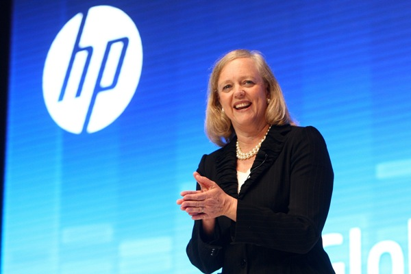 Meg Whitman, president and chief executive officer, HP