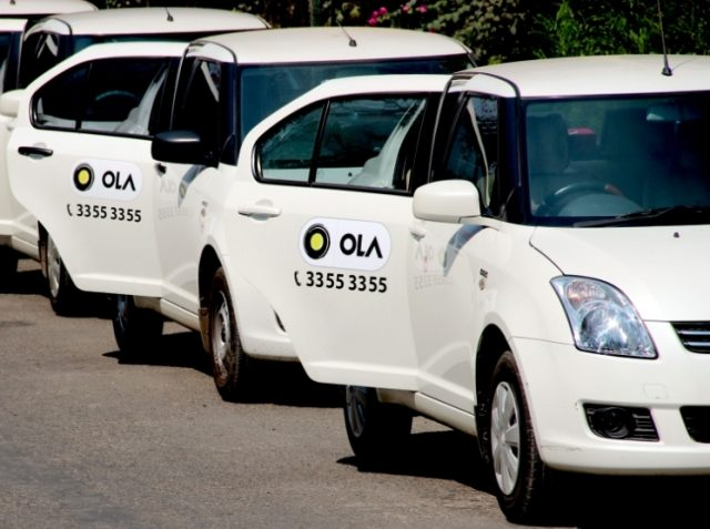 OLA cabs in Bangalore