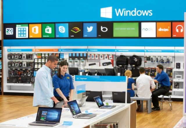 Windows 10 at Best Buy