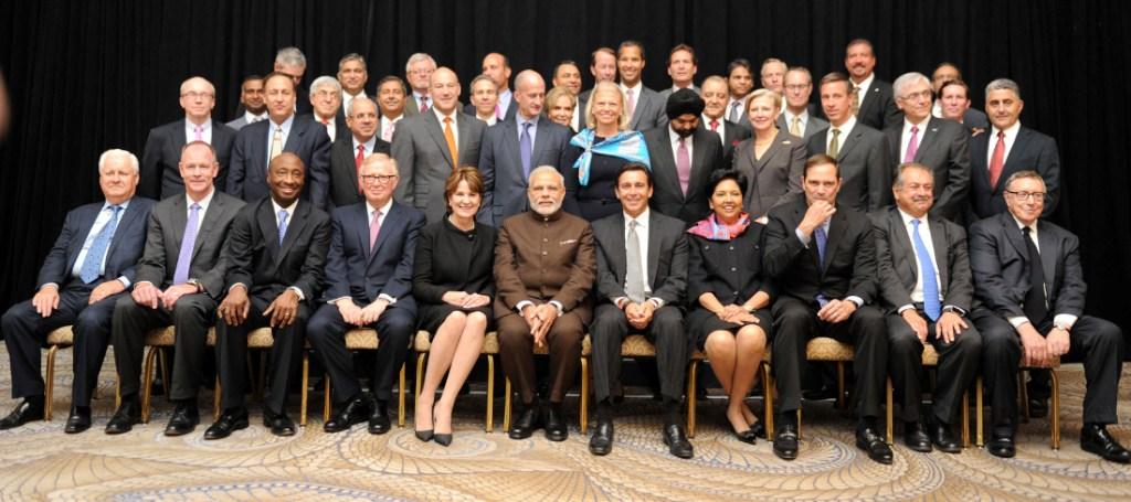 Modi in the US with tech CEOs