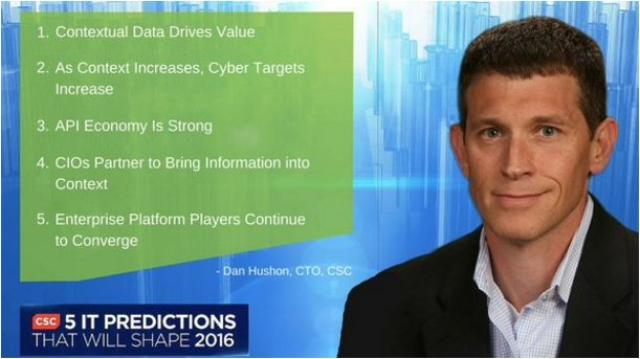 Dan Hushon, chief technology officer of CSC