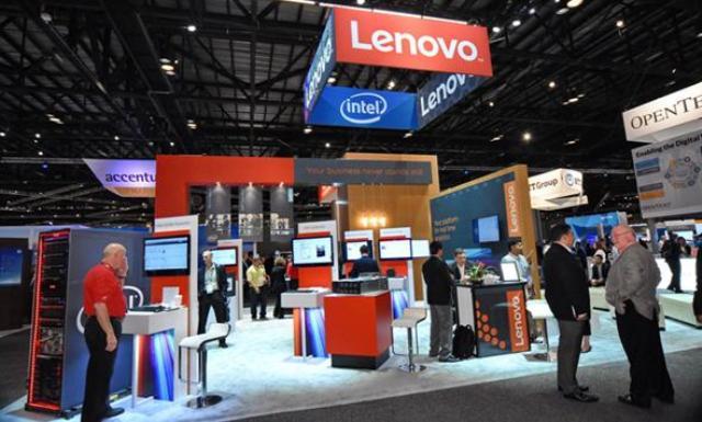 Lenovo booth 2016