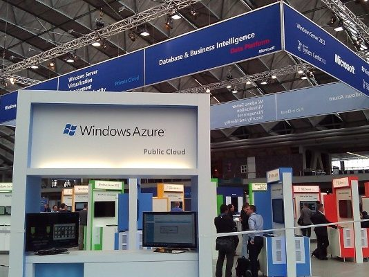 Microsoft Windows Azure public cloud