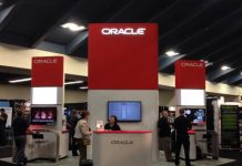 Oracle at a trade show
