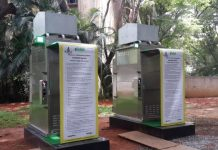 eToilet installed in a park in Bengaluru