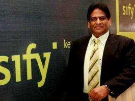 Sify Technologies chairman Raju Vegesna