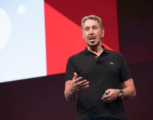 Larry Ellison at Oracle OpenWorld 2017