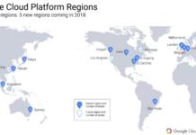 Google Cloud platform regions