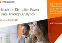 Informatica at an IT event