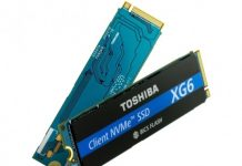Toshiba SSDs with 3D flash memory