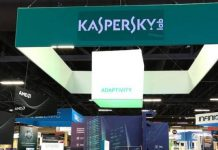 Kaspersky Lab at a trade show