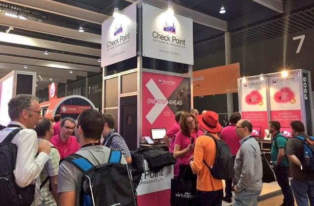 Check Point Software at an IT event