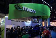 Nvidia at trade show